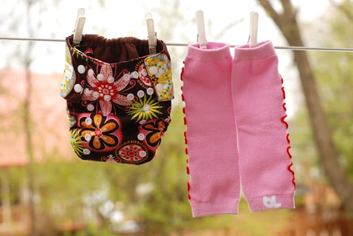 Couche tout-en-un Agrumette fleurie avec jambières Babyleggings Pink Ruffles