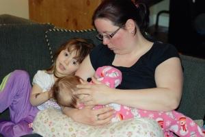 L'allaitement, une affaire de famille.